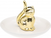 Ehtehoidik Kass 10,5x6cm kuldne