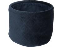 Sametkarp Blue 22 x H.16 cm
