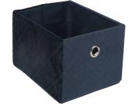 Sametkarp Blue kandiline 26x 32 x H.20cm