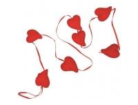 Dekoratsioon sädelevad südamed riputatav
