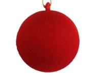 Kuusehe Sametpall 5cm punane