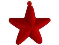 Kuuseehe Täht 7,5cm punane