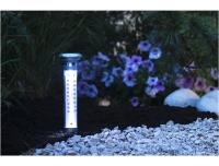 Solarlamp-termomeeter 1LED 9x57cm