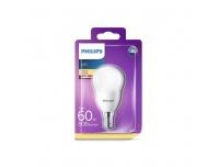 LED lamp Philips 7W P48 E14 806lm dekor