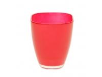 Vaas Bombay klaas13cm punane