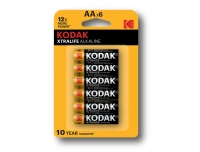 Patareid Kodak AA Xtralife 6tk