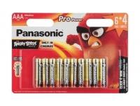 Patarei Panasonic AAA 6+4tk Pro Power