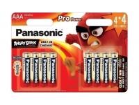 Patarei Panasonic AAA 4+4tk ProPower