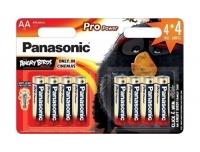 Patarei Panasonic AA LR6 4+4tk ProPower