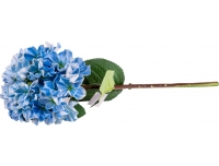 Kunstlill Real Hortensia 70cm sinine