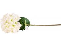 Kunstlill Real Hortensia 70cm valge