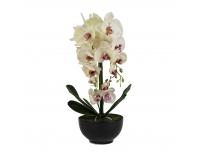 Kunstlill Real Orhidee 60cm potis