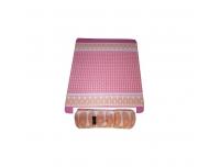 Fliispleed 130x150cm roosa 100% PE