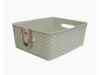 Korv My Style keskmine 35x30x13cm valge