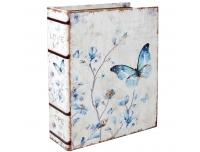 Raamat-karp Liblikas 30x24x18cm