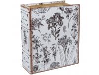 Raamat-karp Lilled 30x24x18cm