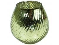 Teeküünlahoidik Spiraal 10x10cm klaas