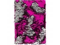 Märkmik 18x13x3cm litritega roosa