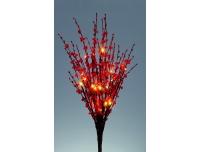 Kirsioksad valgusega 70cm 24 LED