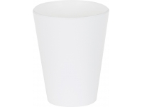 Joogitops 285ml plastik valge