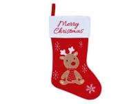 Jõulusokk Merry Christmas 41cm valik
