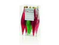 Kuuseehe Jääpurikas 15cm 6tk punane/rohe