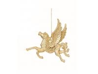 Dekoratsioon Pegasus 12cm kuld