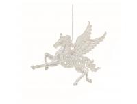 Dekoratsioon Pegasus 12cm hõbe