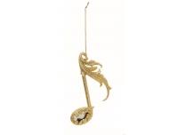 Kuuseehe Noodid 12cm kuldne