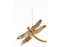 Kuuseehe Liblikas/Kiil 10cm kuldne valik