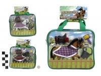Hobuse komplekt Equestrian tarvikutega