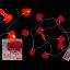 Valguskett 10 LED vildist südamed
