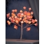 Valguspuu Roosipuu roosa 48LED IP44 45cm