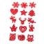 Jõulumotiivid vildist erinevad 45tk